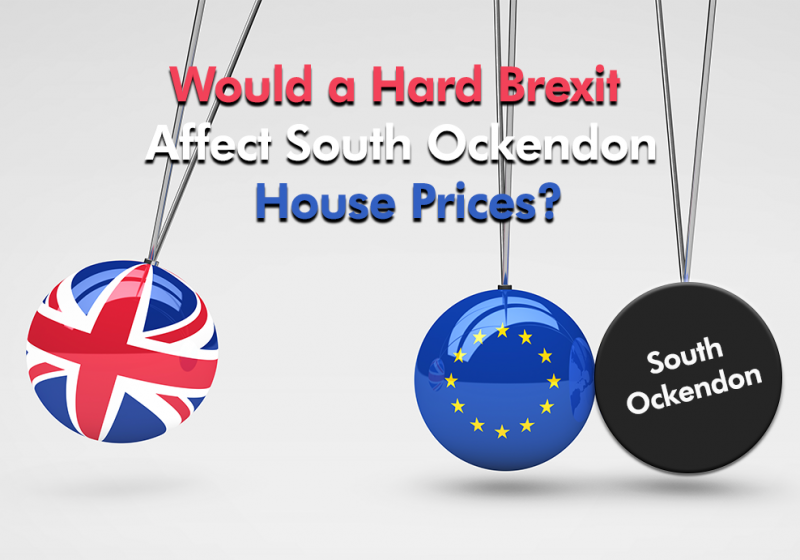 How would a Hard Brexit affect South Ockendon House Prices