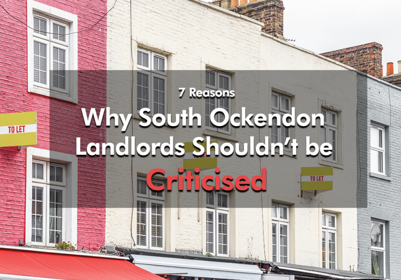 Why South Ockendon Landlords Shouldn't be Criticised